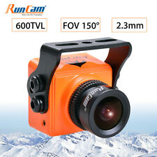 RunCam 600TVL Mini FPV HD Camera FOV 150 5 -36V NTSC PAL For Drone Quad -copter