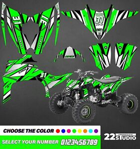 2014 2017 Yamaha YFZ450R graphics decal kit full stickers atv yfz 450r