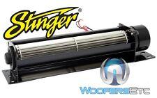 """STINGER SGJ78 LARGE PRO 8.25"""" CROSS FLOW UNIVERSAL CAR AMPLIFIER COOLING FAN NEW"""