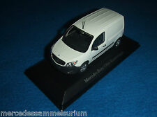 Mercedes Benz C 415 Citan box truck White 1:43 NIP