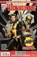 Comic - Marvel NOW - Wolverine und Deadpool Nr. 11 von 2014 - Panini Verlag deut
