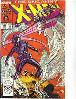Uncanny X-Men #230 VFN/NM 1988 cents Marc Silvestri Marvel Comics US comics