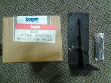 Bogen 0948 Lateral Mounting Bracket For walls. New in box!