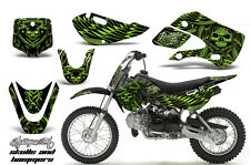 Decal Graphic Kit Wrap + # Plates For Kawasaki KLX 110 02-09 KX 65 02-18 HISH G