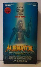 Alienator Rare & OOP 80's Horror Sci-Fi Movie Original Prism Home Video VHS