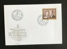SC24 LIECHTENSTEIN 1974 FDC Prins Franz Josef II & Princess Gina