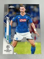 Fabian Ruiz 2019-20 Topps Chrome UEFA Champions League Base #41 SSC Napoli 🇪🇸