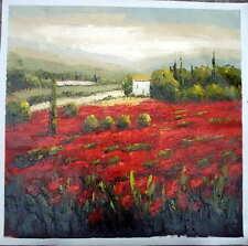Tuscany Provence Vineyard Wine Napa Sonoma Paris France Italy Cafe Oil Painting