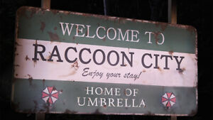 Resident Evil Welcome To Raccoon City Movie Wall Breakout Sticker Bedroom Poster