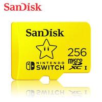 SanDisk 256GB for Nintendo Switch microSDXC UHS-I U3 100MB/s with Tracking#
