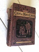 The Count of Monte-Cristo Alexandre Dumas George Routledge & Sons Illus 1800s
