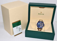 Rolex Submariner 18K White Gold  Blue Ceramic Watch Box/Papers 2017 116619