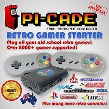 RetroPie PiCade Gamer Kit Nintendo SNES PSX N64 MAME KODI Raspberry Pi 3 32GB