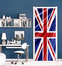 3D British Flag 7 Door Wall Mural Photo Wall Sticker Decal AJ WALLPAPER US