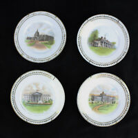 Bavarian Selb Hutschenreuther Decorative Plates Washington DC Set of Four