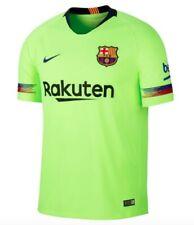 Nike Hombre FC Barcelona hacia Fuera Camiseta Visitante Amarillo Tamaño XL Nuevo