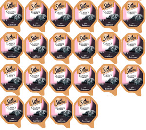 Sheba Classics In Terrine With Salmon For Adult Cats 2x11x85g Best Bef 16.11.22
