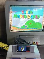Super Mario World (Nintendo SNES, 1992) - Pins Cleaned & Tested