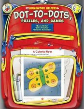 NEW - Dot-to-Dot, Puzzles, and Games, Grades PK - 1 (Homework Helper)