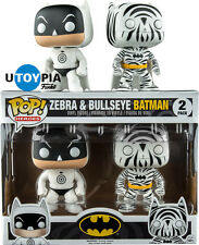 FUNKO POP! VINYL HEROES:  Zebra & Bullseye Batman 2 Pack EXCLUSIVE (FUN11397)