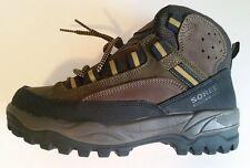 New Men's Sorel ROCK HI multi brown hiking boot size 6 - Made in Italy
