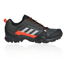 adidas Mens Terrex AX3 Walking Shoes Grey Sports Outdoors Breathable Lightweight