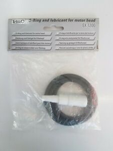 tetra ex1200 external canister filter replacement o ring/gasket/seal & lubriant