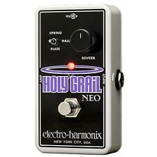 Electro-Harmonix Holy Grail Neo Reverb Guitar Effects Pedal +Picks