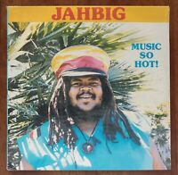 "JAH BIG ""MUSIC SO HOT"" SEALED 1986 1ST PRESS VINYL LP RARE ROOTS REGGAE ALBUM"