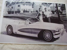 1955 CADILLAC LASALLE II CONVERTIBLE CONCEPT CAR   11 X 17  PHOTO /  PICTURE