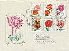 1975 East Germany FDC cover Flowers