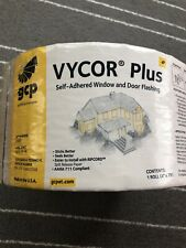 "Two (2) Rolls Of Vycor Plus Self-Adhered Window and Door Flashing (4"" X 75"")"