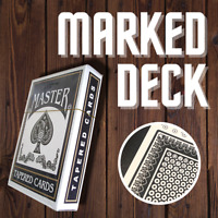 Marked Deck - Magicians Magic Trick Deck of Playing Cards - POKER