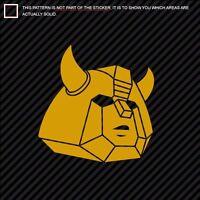 funny drift jdm Transformers Decepticon x6 set car Decal sticker vag