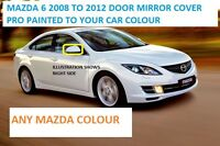 Mazda 6 Wing Mirror Cover L/H Or R/H Painted Any Mazda Colour 2008-12