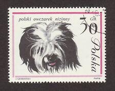 Polish Lowland Sheepdog * Int'l Dog Postage Stamp*Great Pon Gift Idea*Nizinny