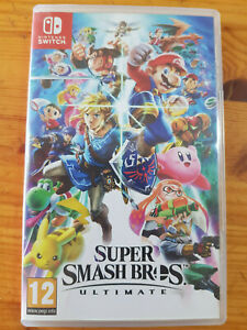 Super Smash Bros. Ultimate NINTENDO SWITCH - Complet - Comme Neuf