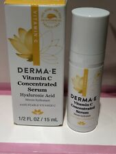 Derma-E VitC Concentrated Serum 15 ml Travel Size 100% Vegan NEW