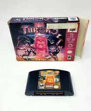 Turok 3: Shadow of Oblivion (Nintendo 64, 2000) N64 in Box Fair Fast Shipping