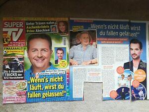 Norbert Rier Kastelruther Spatzen 1 Bericht und Titelseite