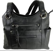 Concealment Gun Purse for Right or Left Hand Draw with Locking Zippers