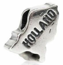 TEDORA HOLLAND BEAD AUTHENTIC 925 STERLING SILVER FIT EUROPEAN CHARM BEADS S 011