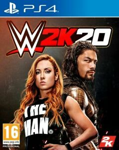 WWE 2K20 (Playstation 4 PS4) Great Condition