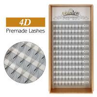 Lashview 4D C Curl Volume Premade Eyelash Extensions Ultra Soft Lash .07 .05mm