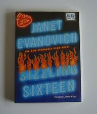 Sizzling Sixteen: by Janet Evanovich:  MP3CD Audiobook