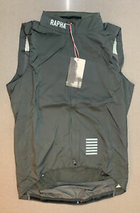 Rapha Pro Team Insulated Gilet Green Grey Size Medium Brand New With Tag