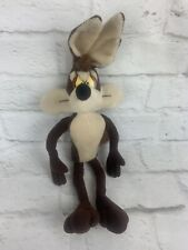 """Wile E Coyote 15"""" Applause Looney Tunes Warner Bros 1994 Plush Toy Stuffed"""
