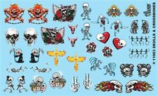 Gofer 11063 Skulls & Crossbones Decal Sheet 1/24 and 1/25