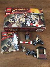 LEGO INDIANA JONES MOTORCYCLE CHASE 7620 ALL MINIFIGURES Complete
