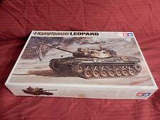 1/35 Tamiya Mokei RC Lin Motorized West German Leopard Twin Motors F/S Bags OB